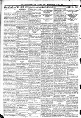The Algona Upper Des Moines from Algona, Iowa on June 10, 1891 · Page 2