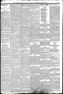 The Algona Upper Des Moines from Algona, Iowa on July 27, 1892 · Page 3