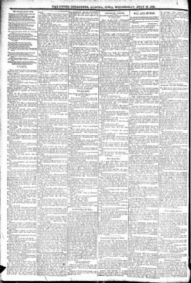 The Algona Upper Des Moines from Algona, Iowa on July 27, 1892 · Page 6