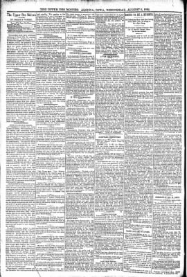 The Algona Upper Des Moines from Algona, Iowa on August 3, 1892 · Page 4