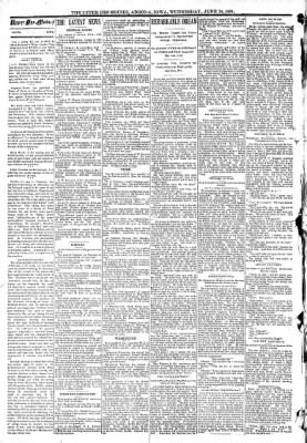 The Algona Upper Des Moines from Algona, Iowa on June 24, 1891 · Page 2