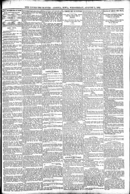 The Algona Upper Des Moines from Algona, Iowa on August 3, 1892 · Page 5