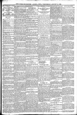 The Algona Upper Des Moines from Algona, Iowa on August 10, 1892 · Page 5
