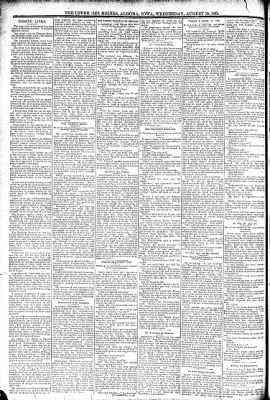 The Algona Upper Des Moines from Algona, Iowa on August 10, 1892 · Page 8