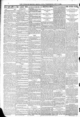 The Algona Upper Des Moines from Algona, Iowa on July 8, 1891 · Page 2
