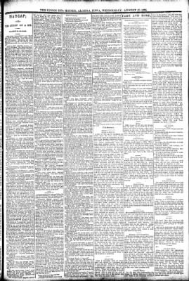 The Algona Upper Des Moines from Algona, Iowa on August 17, 1892 · Page 3