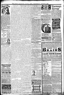 The Algona Upper Des Moines from Algona, Iowa on August 17, 1892 · Page 7