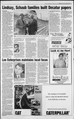 Herald and Review from Decatur, Illinois on March 29, 1998 · Page 101