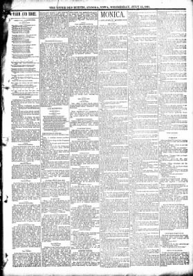 The Algona Upper Des Moines from Algona, Iowa on July 15, 1891 · Page 3