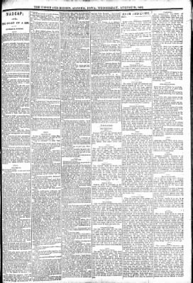 The Algona Upper Des Moines from Algona, Iowa on August 31, 1892 · Page 7