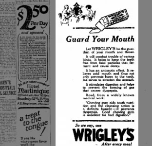 Clip of the Day: Guard Your Mouth with Wrigley's After Every Meal