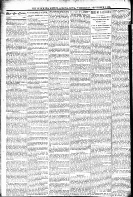 The Algona Upper Des Moines from Algona, Iowa on September 7, 1892 · Page 2