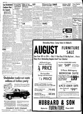 The Courier News from Blytheville, Arkansas on August 18, 1953 · Page 10