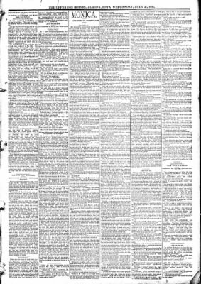 The Algona Upper Des Moines from Algona, Iowa on July 29, 1891 · Page 3