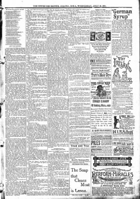 The Algona Upper Des Moines from Algona, Iowa on July 29, 1891 · Page 10