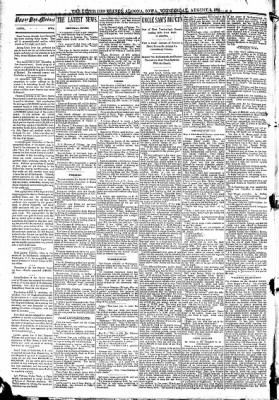 The Algona Upper Des Moines from Algona, Iowa on August 5, 1891 · Page 2