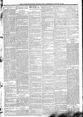 The Algona Upper Des Moines from Algona, Iowa on August 19, 1891 · Page 3
