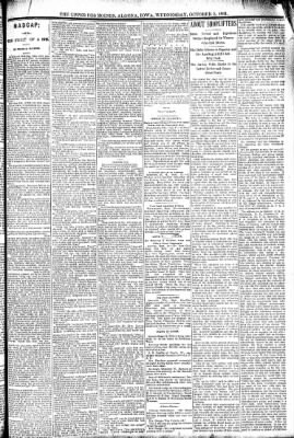 The Algona Upper Des Moines from Algona, Iowa on October 5, 1892 · Page 3