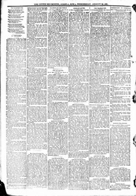 The Algona Upper Des Moines from Algona, Iowa on August 26, 1891 · Page 6