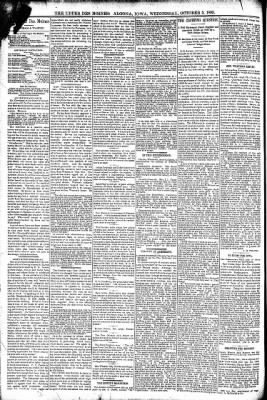 The Algona Upper Des Moines from Algona, Iowa on October 5, 1892 · Page 4