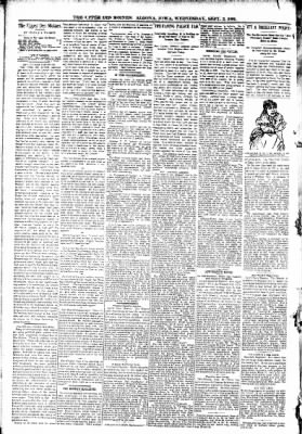 The Algona Upper Des Moines from Algona, Iowa on September 2, 1891 · Page 4