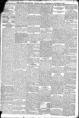 The Algona Upper Des Moines from Algona, Iowa on October 12, 1892 · Page 4