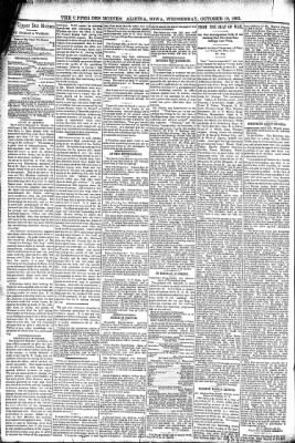 The Algona Upper Des Moines from Algona, Iowa on October 19, 1892 · Page 4