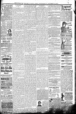 The Algona Upper Des Moines from Algona, Iowa on October 19, 1892 · Page 7