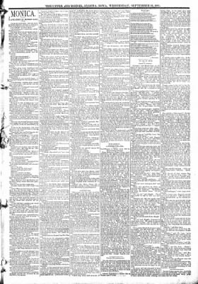 The Algona Upper Des Moines from Algona, Iowa on September 16, 1891 · Page 3