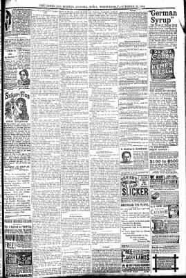 The Algona Upper Des Moines from Algona, Iowa on October 26, 1892 · Page 7