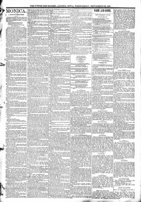 The Algona Upper Des Moines from Algona, Iowa on September 23, 1891 · Page 3