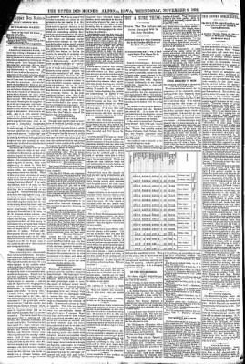 The Algona Upper Des Moines from Algona, Iowa on November 9, 1892 · Page 4