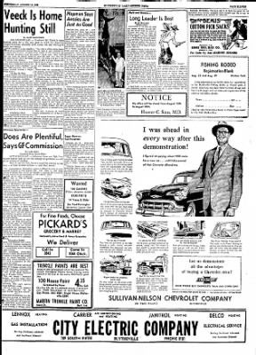 The Courier News from Blytheville, Arkansas on August 19, 1953 · Page 11