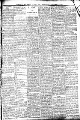 The Algona Upper Des Moines from Algona, Iowa on December 7, 1892 · Page 3