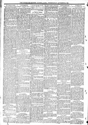 The Algona Upper Des Moines from Algona, Iowa on October 28, 1891 · Page 8