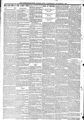 The Algona Upper Des Moines from Algona, Iowa on November 4, 1891 · Page 2