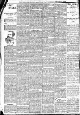 The Algona Upper Des Moines from Algona, Iowa on December 14, 1892 · Page 8
