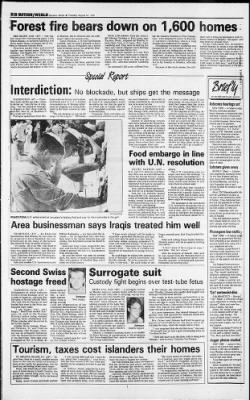 Herald and Review from Decatur, Illinois on August 14, 1990