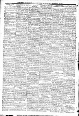 The Algona Upper Des Moines from Algona, Iowa on November 11, 1891 · Page 6