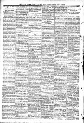 The Algona Upper Des Moines from Algona, Iowa on November 18, 1891 · Page 4