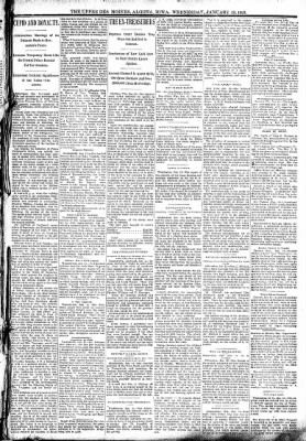 The Algona Upper Des Moines from Algona, Iowa on January 18, 1893 · Page 3