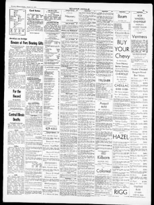 The Decatur Herald From Decatur Illinois On August 15 1969 Page 31