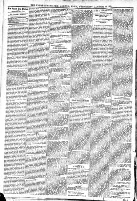 The Algona Upper Des Moines from Algona, Iowa on January 18, 1893 · Page 4