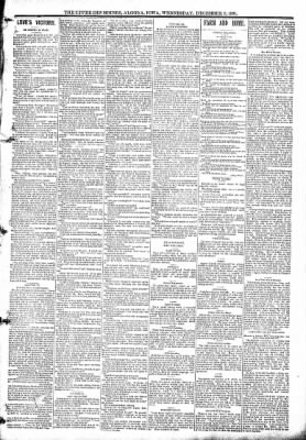 The Algona Upper Des Moines from Algona, Iowa on December 9, 1891 · Page 3