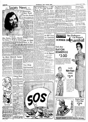 The Courier News from Blytheville, Arkansas on May 17, 1954 · Page 4