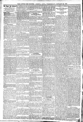 The Algona Upper Des Moines from Algona, Iowa on January 25, 1893 · Page 4