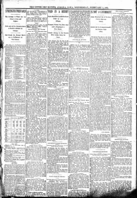 The Algona Upper Des Moines from Algona, Iowa on February 1, 1893 · Page 3
