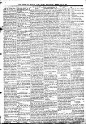 The Algona Upper Des Moines from Algona, Iowa on February 8, 1893 · Page 3