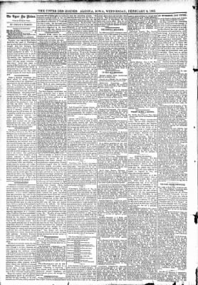 The Algona Upper Des Moines from Algona, Iowa on February 8, 1893 · Page 4
