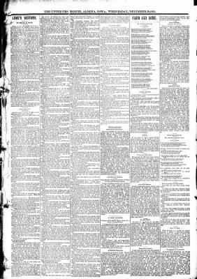 The Algona Upper Des Moines from Algona, Iowa on December 30, 1891 · Page 3